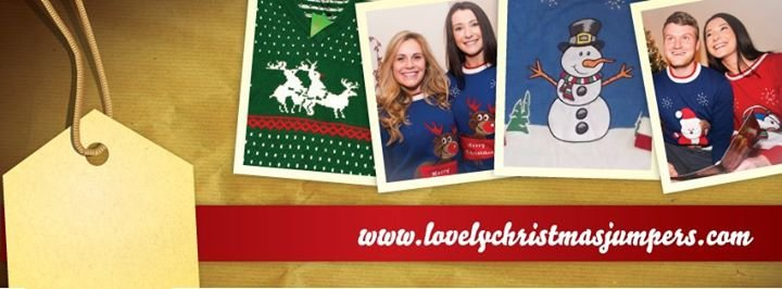 Lovely Christmas Jumpers cover