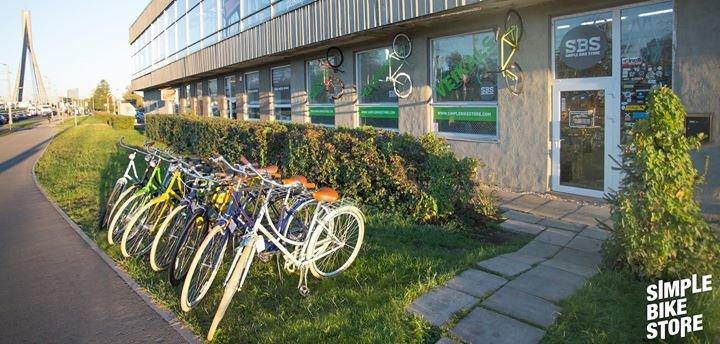 Simple Bike Store Riga cover