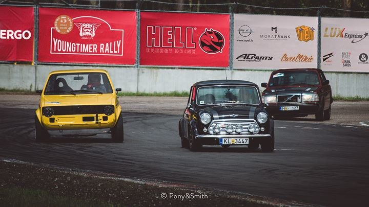 Youngtimer Rally cover