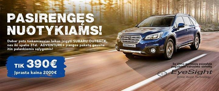Subaru Vilnius cover