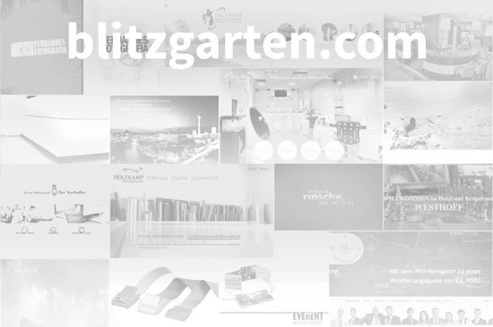Blitzgarten cover