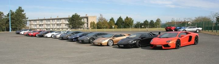 Lamborghini Club France cover