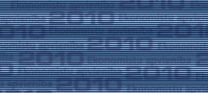 Ekonomistu apvienība 2010 cover