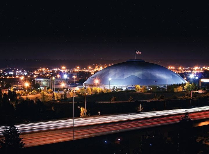Tacoma Dome cover