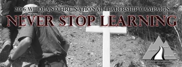 Wildland Fire Leadership Development cover