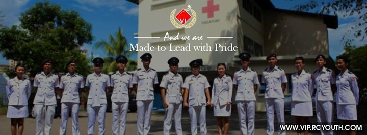 Red Cross Youth Singapore cover