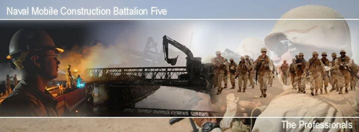Naval Mobile Construction Battalion Five cover