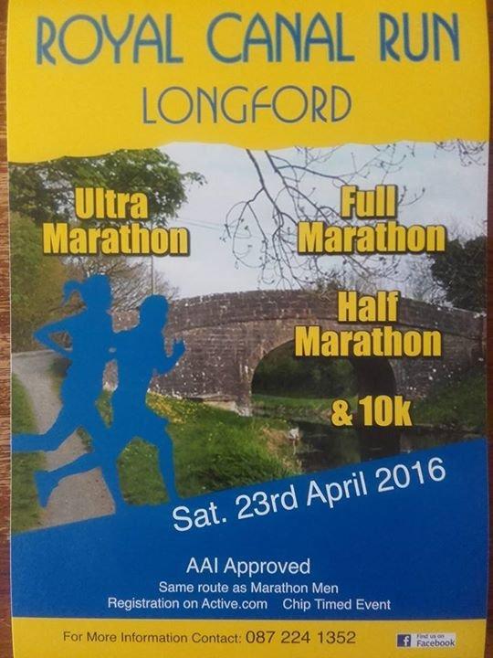 Royal Canal Run Longford cover