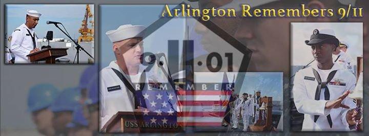 USS Arlington (LPD 24) cover