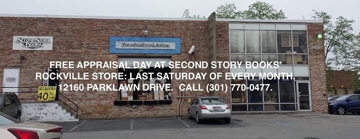 Second Story Books & Antiques - Rockville cover