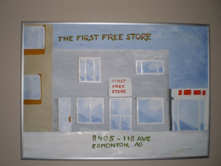 First Free Store Edmonton cover