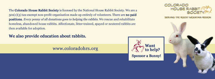 Colorado House Rabbit Society cover