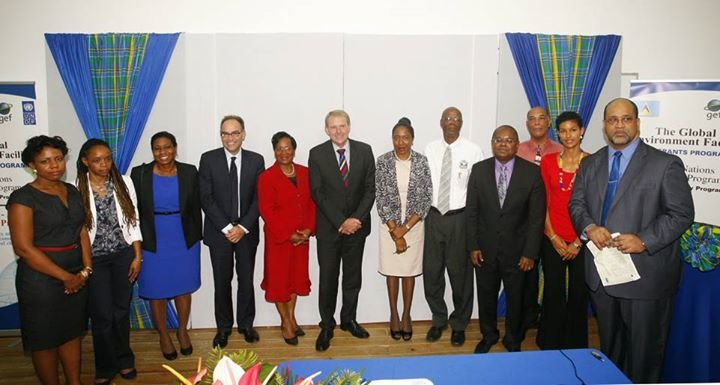 GEF Small Grants Programme- Saint Lucia cover