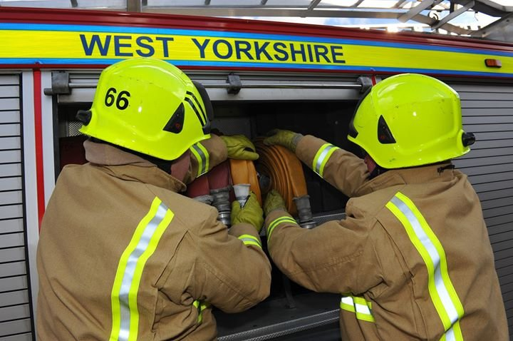 West  Yorkshire Fire and Rescue Service cover