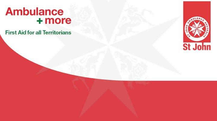 St John Ambulance NT cover