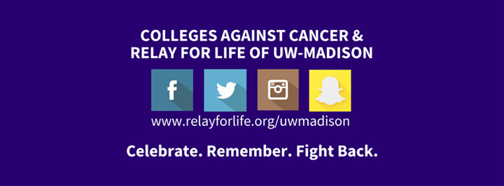 Colleges Against Cancer and Relay For Life of UW-Madison cover