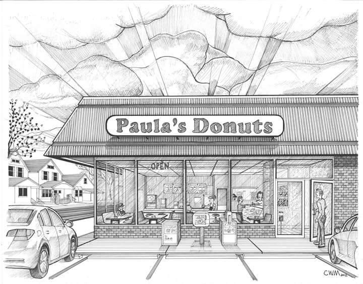Paula's Donuts cover
