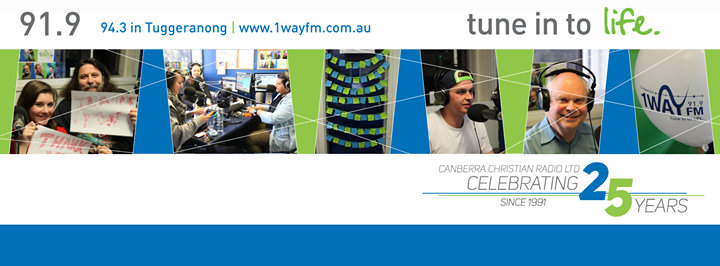 Canberra's 1WAY FM cover