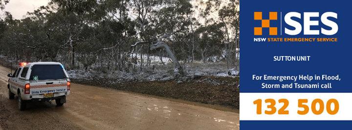 NSW SES - Sutton Unit cover