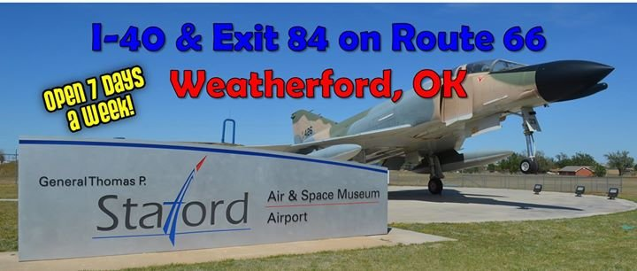 Stafford Air & Space Museum cover