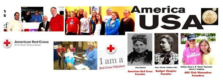 American Red Cross K12 Club Waunakee cover
