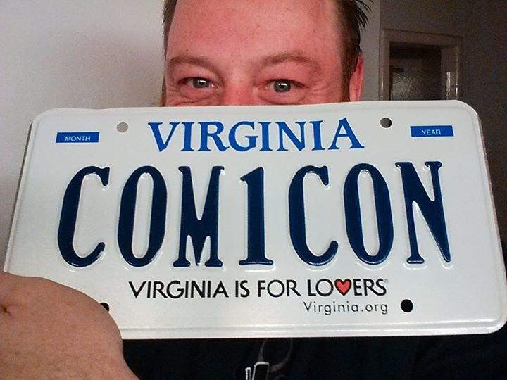 VA COMICON cover