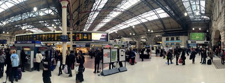 London Victoria Station cover