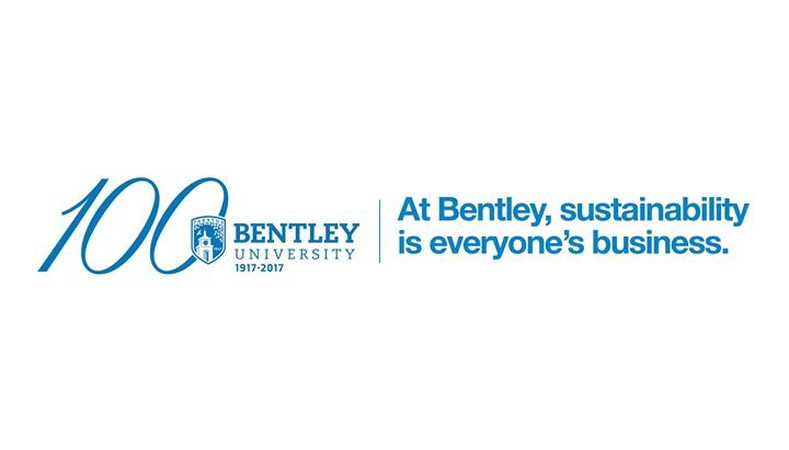 Bentley University Office of Sustainability cover