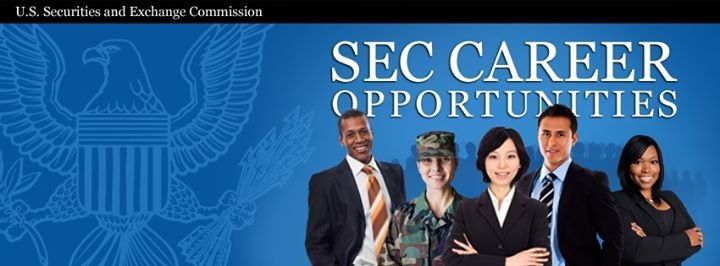 U.S. Securities and Exchange Commission Careers cover