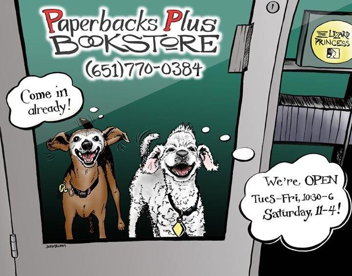 Paperbacks Plus Bookstore cover