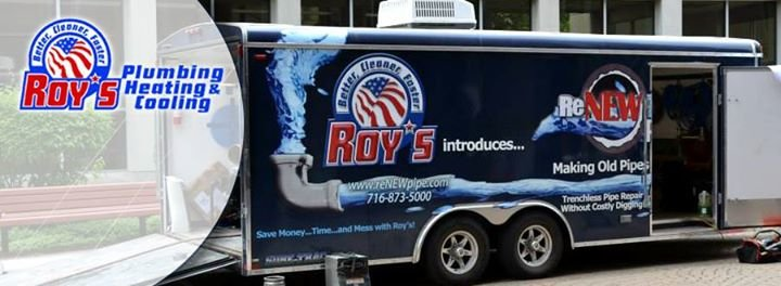 Roy's Plumbing, Heating & Cooling cover