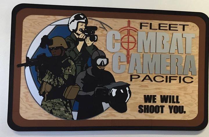 U.S. Navy Fleet Combat Camera Pacific (FLTCOMCAMPAC) cover