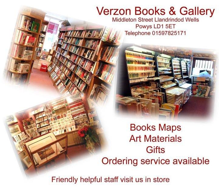 Verzon Bookshop & Gallery cover