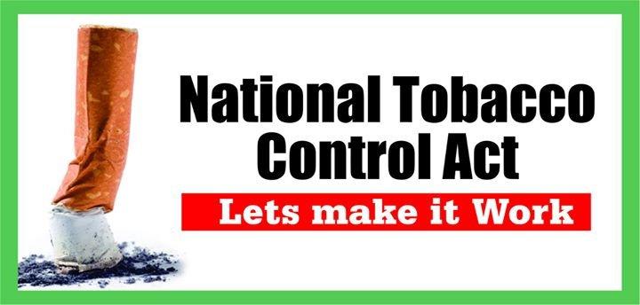 Tobacco Control Nigeria cover