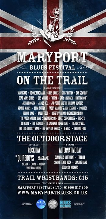 Maryport Blues Festival cover