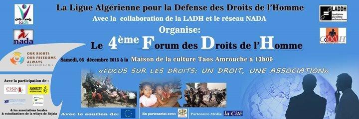 LADDH Ligue Algérienne pour la Défense des Droits de l'Homme cover