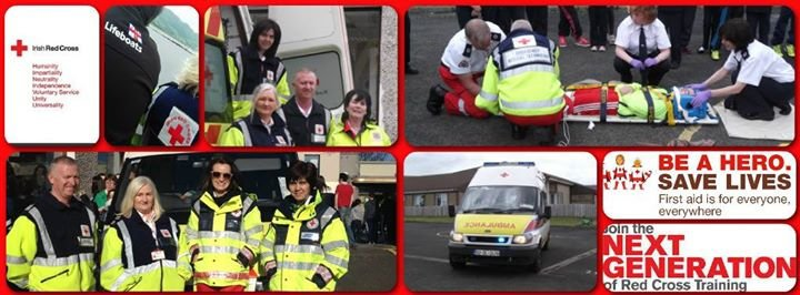 Irish Red Cross Buncrana branch cover