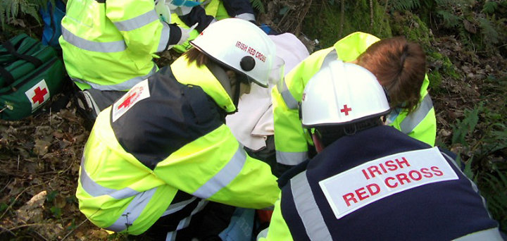 Irish Red Cross EFR Programme cover