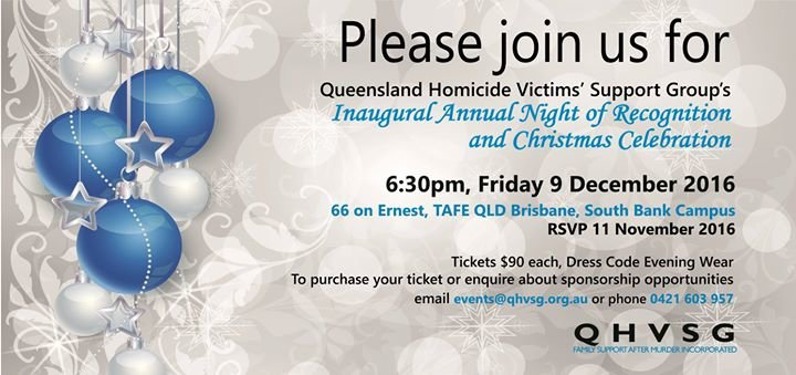 Queensland Homicide Victims' Support Group cover