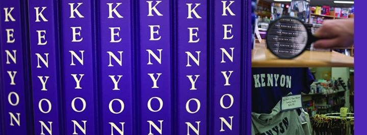 Kenyon College Bookstore cover