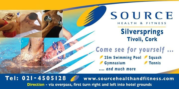 Source Health & Fitness Cork cover