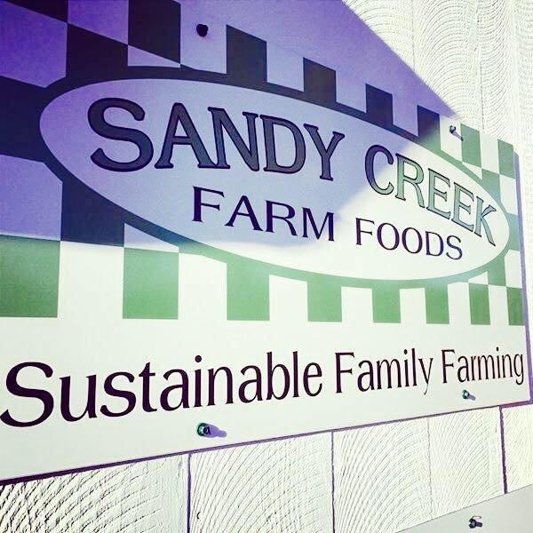 The Farmtrepreneur - Sandy Creek Farm Foods cover