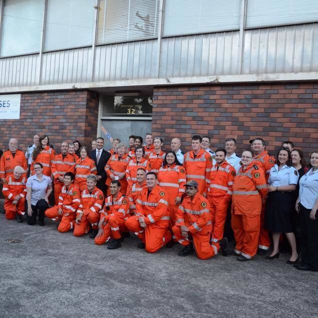 NSW SES Burwood Unit cover