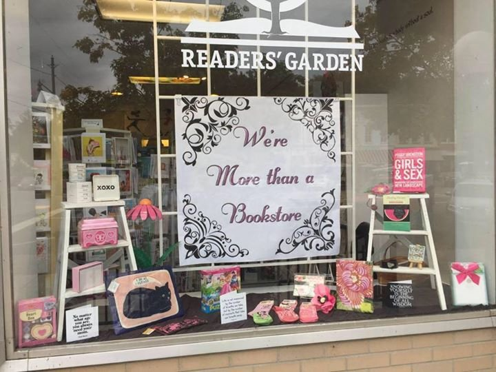 Readers' Garden Book Store cover