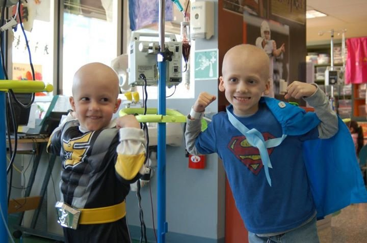 Superhero Kids - Supporting the Children's Blood and Cancer Center cover