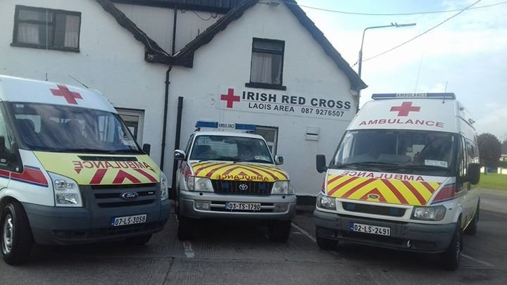 Irish Red Cross Laois Area cover
