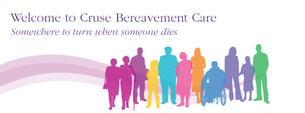 Cruse Bereavement Care Peterborough and Huntingdon area. cover