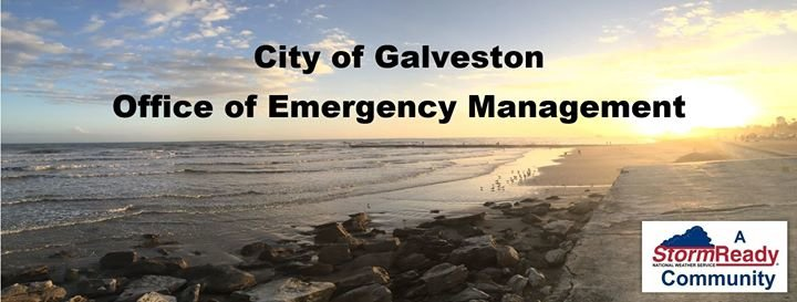 City of Galveston Emergency Management cover