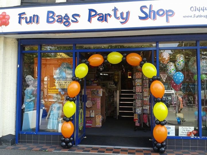 Fun Bags Party Shop cover