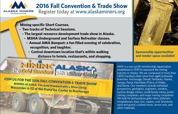 Alaska Miners Association cover